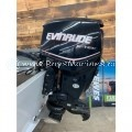 USED 2011 EVINRUDE E-TEC 150 HP JET 25 IN SHAFT OUTBOARD MOTOR